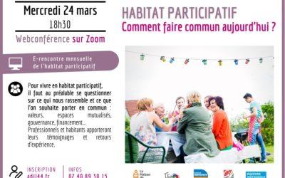 Mensuelle de l'habitat participatif