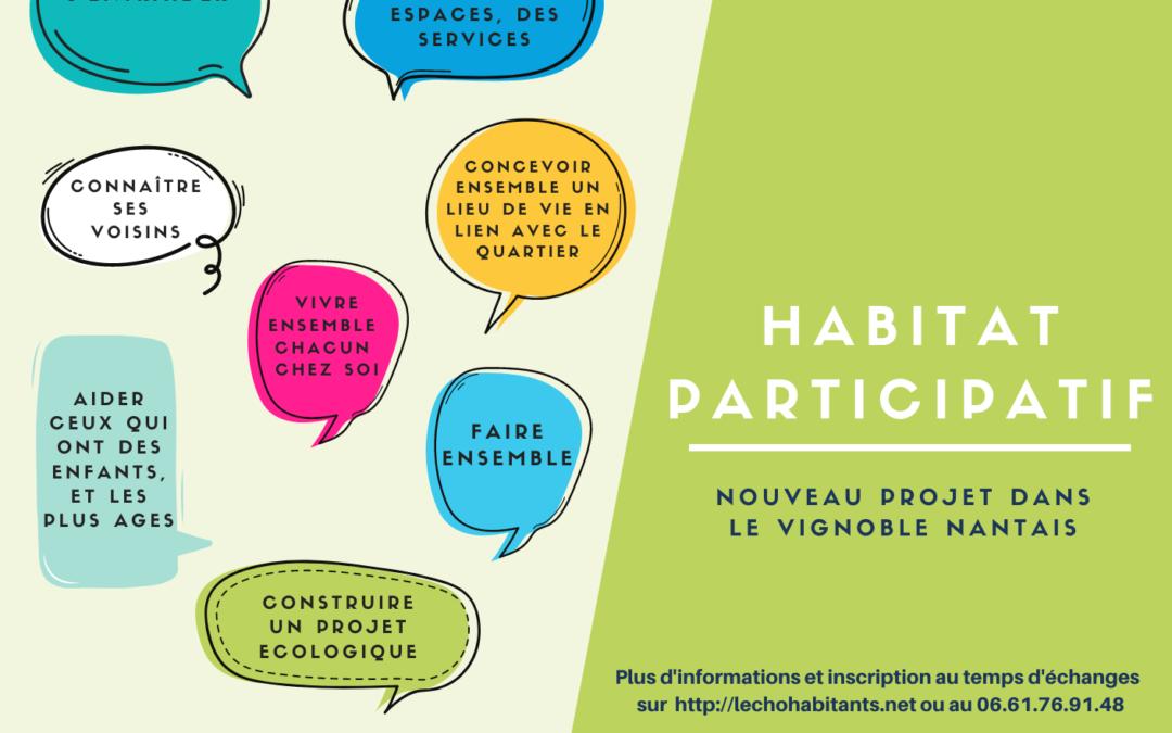 Nouveau : Habitat participatif – Le Landreau (44)