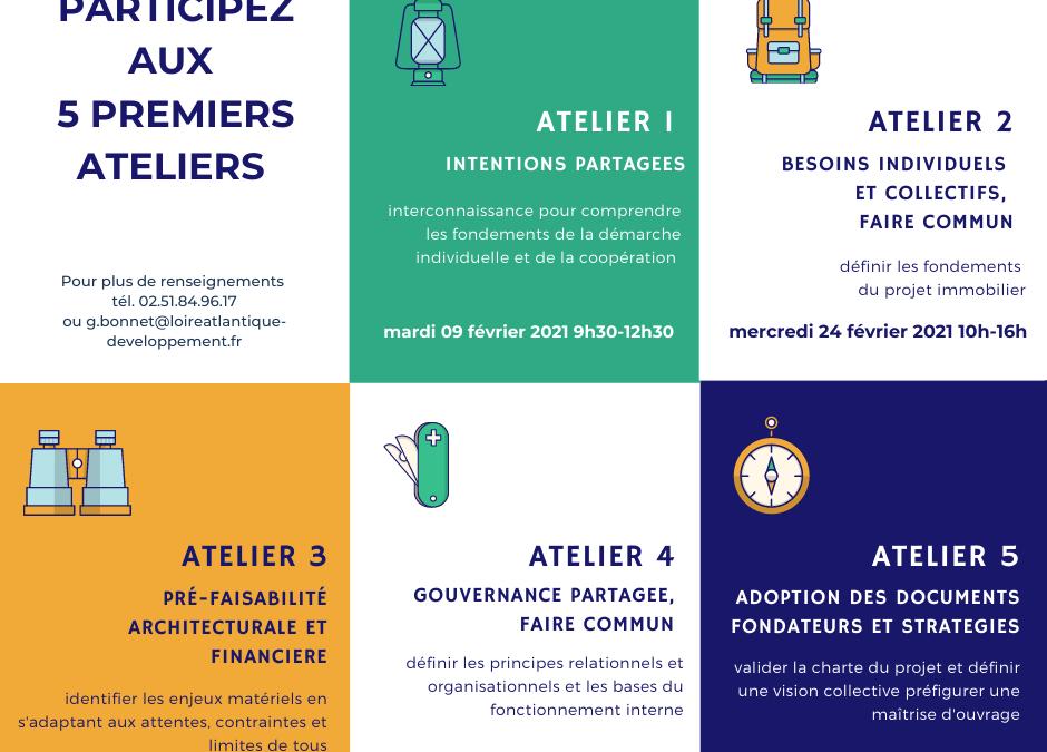 Métairie – Guérande : les ateliers ont démarré