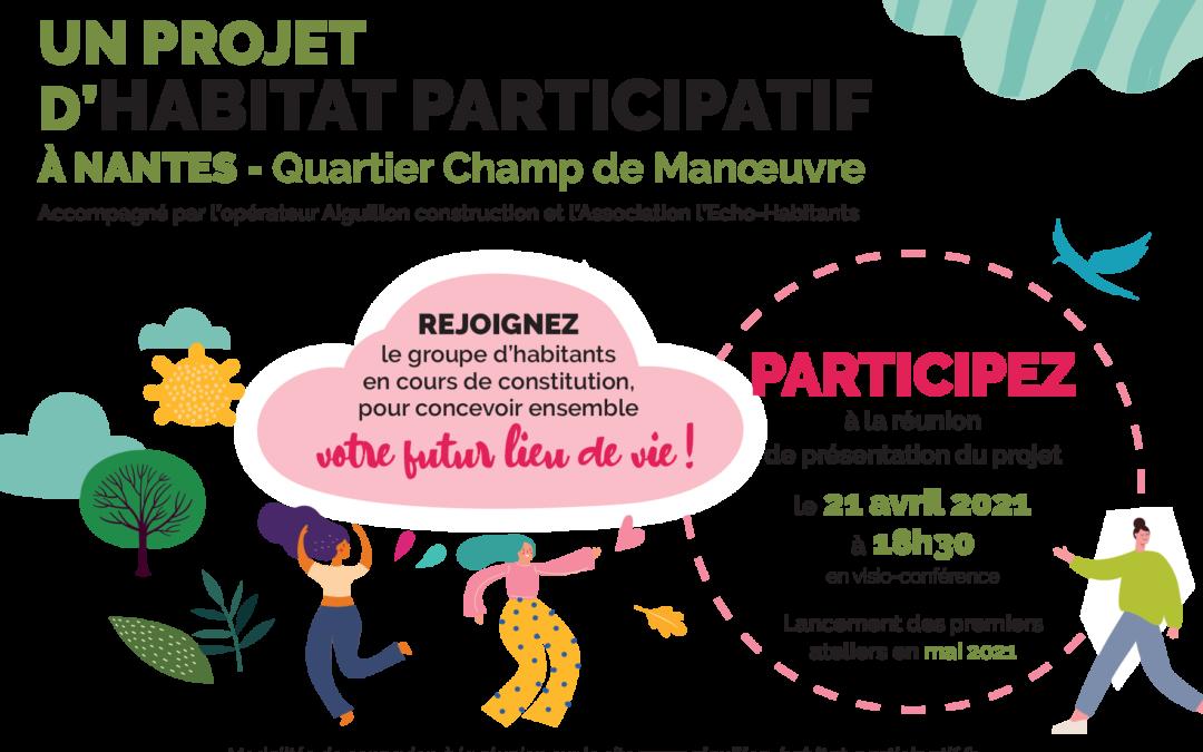 Lancement du projet Champ de Manoeuvre à Nantes
